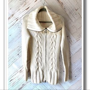Guess Cable Knit Cardigan